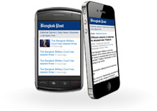Mobile device friendly website at m.bangkokpost.com