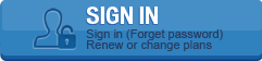 SIGN IN Sign in (Forget password) Renew or change plans