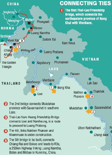 Lao to China highway
