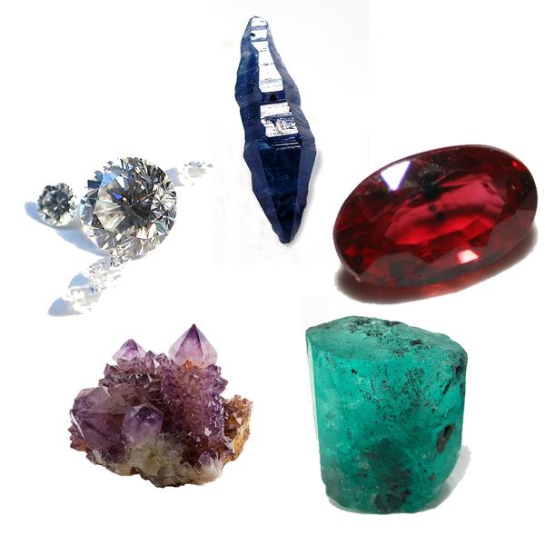 five cardinal gems