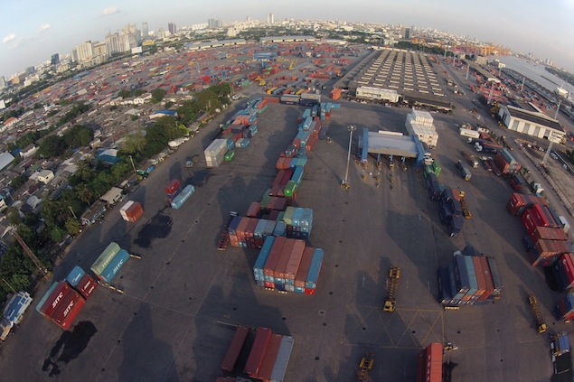 Klong Toey Port is one of three areas in Bangkok being considered to host a Formula One grand prix. The Sports Authority of Thailand has confirmed that an F1 night race will be held in the kingdom in 2014. Photo by Sithikorn Wongwudthianun.