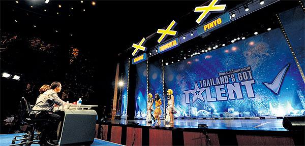 Talent show buzzes with drama