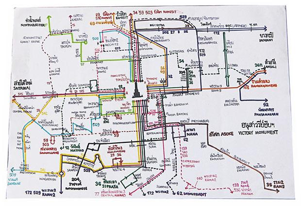 Young map-maker of Bangkok bus system (video)   Bangkok Post: learning