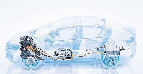 Honda City Hybrid Preview Bangkok Post Auto