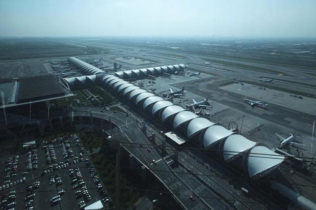 A general view of the Suvarnabhumi airport in November 2014. (Bangkok Post photo)