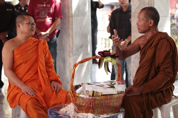 Dhammachayo ruling protested