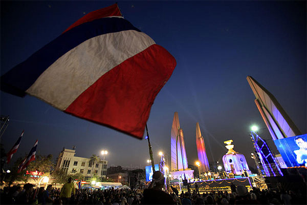 A new chapter for Thailand's political culture is being written to achieve a democracy 'for the people, and by the people'.Thanarak Khunton