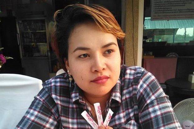Disappeared in broad daylight, a key witness to the 2010 Wat Pathum Wanaram killings, Nattatida Meewangpla re-emerged as a suspect in the Criminal Court bombing. (Bangkok Post photo)