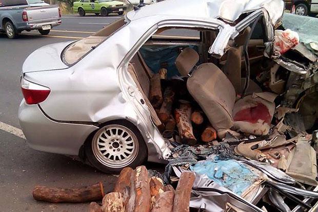 Logs, drugs seized after fatal crash