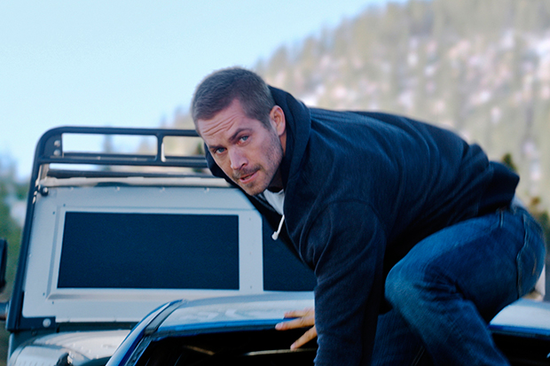 In this photo provided by Universal Pictures, Paul Walker as Brian makes his move in Fast and Furious 7, directed by James Wan. (AP photo)