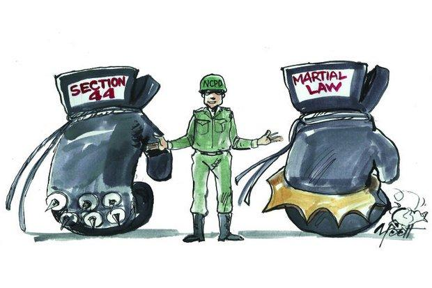 Bangkok Post editorial cartoon