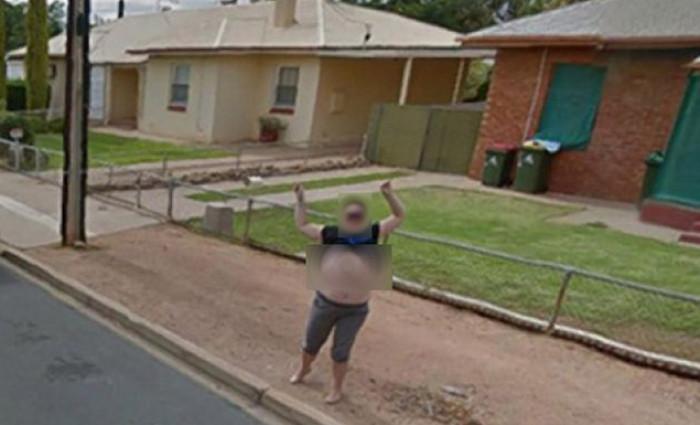 Google Street View breast flasher Karen Davis reported by