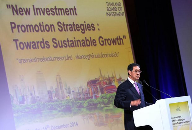 During the past several months, economy czar and Deputy Prime Minister MR Pridiyathorn Devakula has revealed a new government emphasis on industry and investment. (File photo by Post Today)