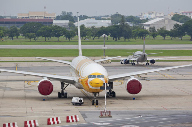 Chinese authorities will arrive next week for safety checks on four Thai-registered airlines. (Photo by Krit Promsaka na Sakolnakorn)