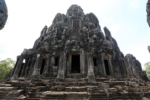 Bayon Temple in Ahgkor Thom, Siem Reap, Cambodia. (Bangkok Post file photo)