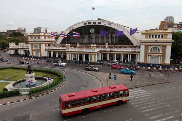 Hua Lamphong station will be renovated as a railway history museum after 2019. (Photo by Chanat Katanyu)