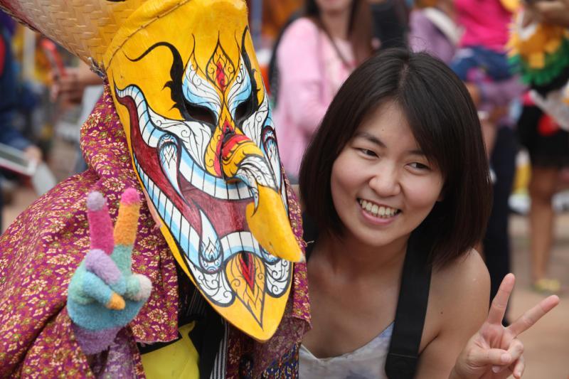 Ghost festival in Isan