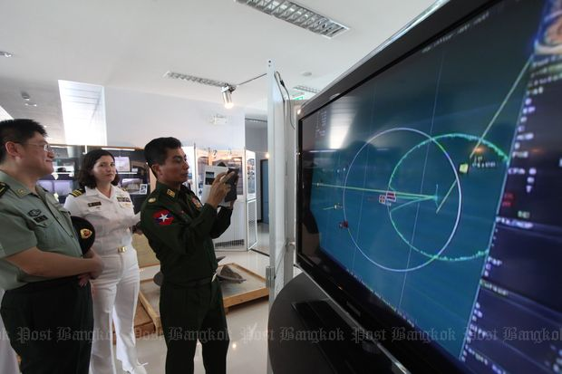 The Royal Thai Navy's Submarine Squadron was officially launched at Sattahip naval base in Chon Buri province on July 7, 2014. (File photo by Thiti Wannamontha)