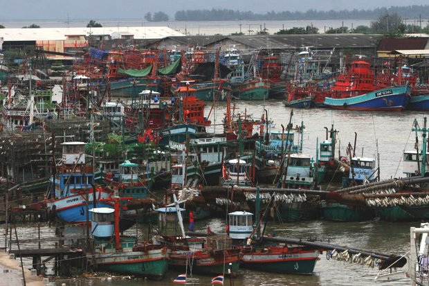 In an exclusive interview, the Fisheries Department chief Joompol Sanguansin says the 3,072 unlicensed trawlers will be back working soon, but in the meantime, Thai waters have been over-fished for 39 years and can use the break. (Photo by Chanat Katanyu)