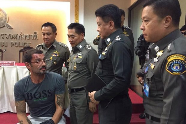 Police have bluntly told Malaysian diplomats and police they will share no information from their investigation into the 1MDB corruption case, including their interrogation of Xavier Andre Justo, detained on suspicion of leaking confidential information to the media. (File photo courtesy of Royal Thai Police)