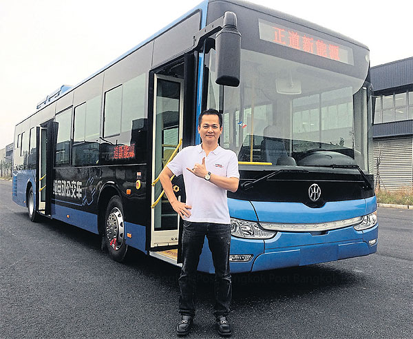 Kwaithong aims  to assemble 2,000  electric buses a  year.