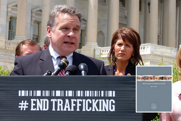 Chris Smith (Republican party, New Jersey) was among several US congressmen from both parties who heavily criticised the 2015 Trafficking in Persons report for politicising the issue, and for being unfair towards Thailand. (Photo courtesy Mr Smith's office)