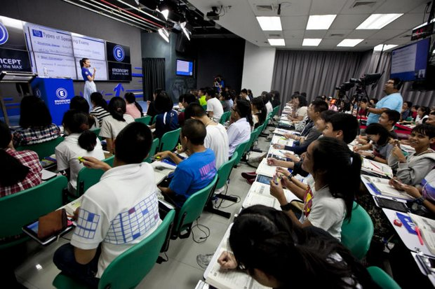 The Office of the Basic Education Commission (Obec) is short of teaching assistants, and will hold a certification exam for applicants in October. (Bangkok Post file photo)