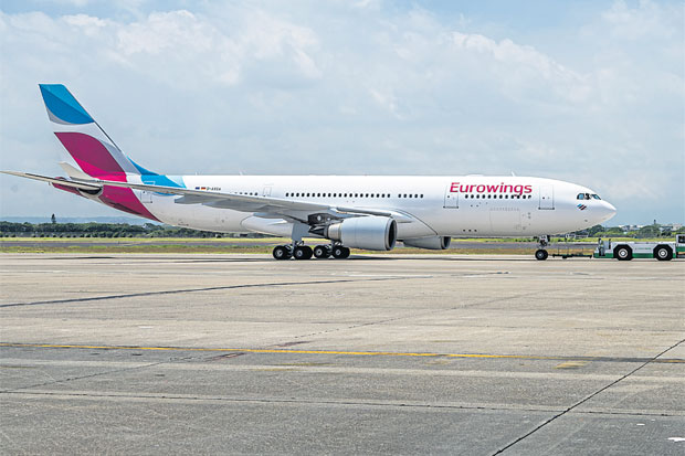 Bangkok and Phuket will be among the first five destinations for the inaugural intercontinental foray planned by Duesseldorf-based budget carrier Eurowings.
