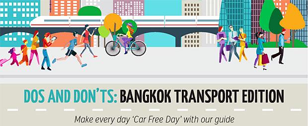 Dos and Don'ts: Bangkok Transport Edition