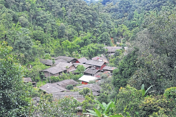 The peaceful village of Mae Kampong stands in a beautiful valley in Chiang Mai and was chosen as one of five eco-villages in the country. PEERAWAT JARIYASOMBAT
