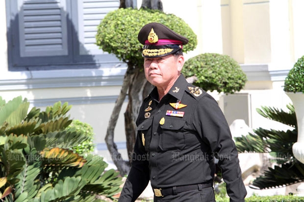 Supreme Commander Gen Sommai Kaodeera will set up a unit to fight against cyber crime. (Bangkok Post file photo)