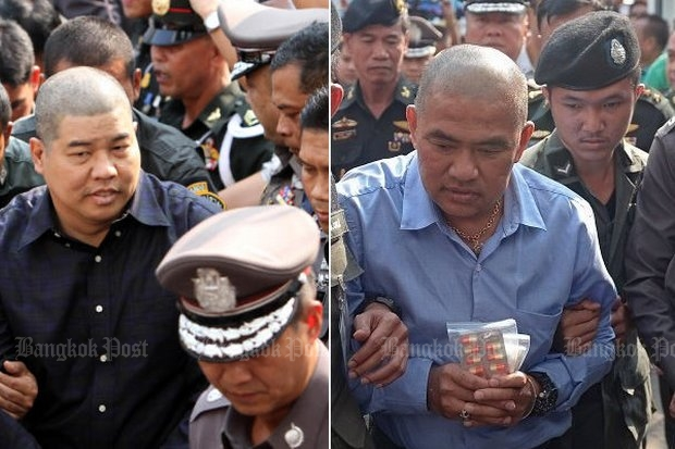 The junta claims fortune teller Mor Yong (right)