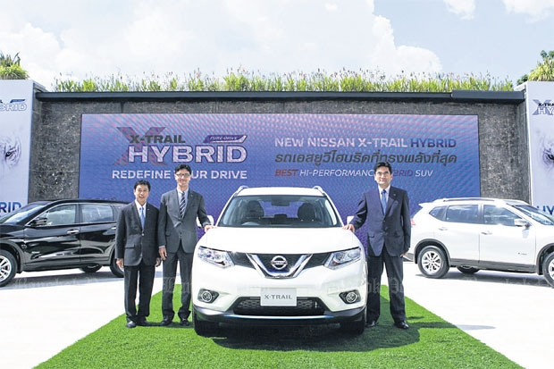 Nissan's facility in Thailand is the second site to make the X-Trail Hybrid, after Japan. The company's president Kazutaka Nambu is confident the plant is efficient enough to produce other hybrid models in the future.