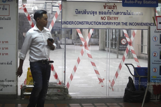 Terminal 2 at Don Mueang airport as it was photographed in September (photo by Thanarak Khunton)