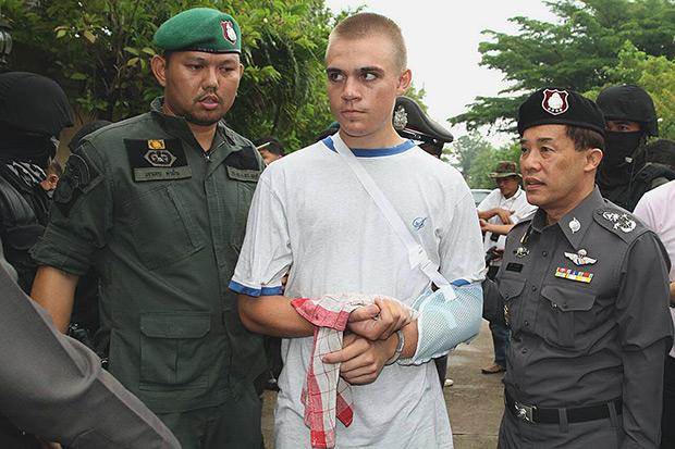 Prime suspect in Aussie biker's murder arrested in Cambodia