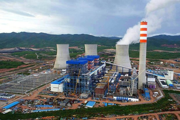 The first unit of the Hongsa lignite-powered plant in northern Laos was turned on last June, and already has begun to reduce Thailand's dependency on natural gas. (Photo courtesy Hongsa Power Company Ltd)