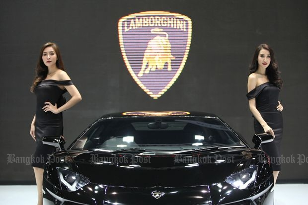 The 32nd Thailand International Motor Expo, which runs until Sunday, had recorded sales of 31,105 units as of Friday. (Photo by Seksan Rojjanametakun)
