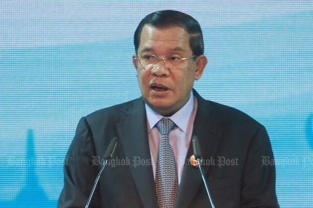 The high-ranking Cambodian team will be headed by strongman Hun Sen, and will include many ministers, as well as his won and heir apparent. (File photo)