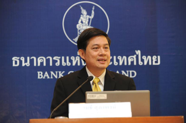 Mathee Supapongse, deputy governor of the Bank of Thailand