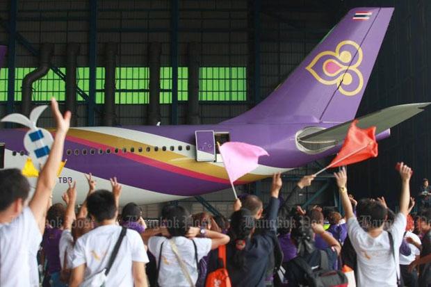 Thai Airways International has secured its flight services to 11 destinations in the European Union. (Photo by Somchai Poomlard)