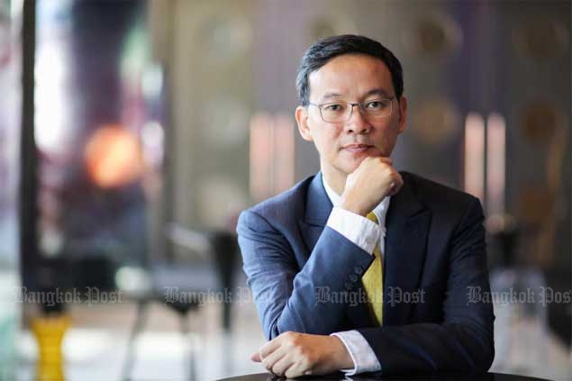 Interview K.Saravoot Yoovidhya, CEO, TC Pharmaceutical at W Hotel Satorn road , Bangkok