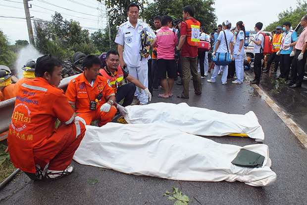 Between Dec 29 and Jan 4, 380 deaths were recorded with 3,505 people injured. The fatality rate marked an 11.4% increase over last year. (Post Today file photo)