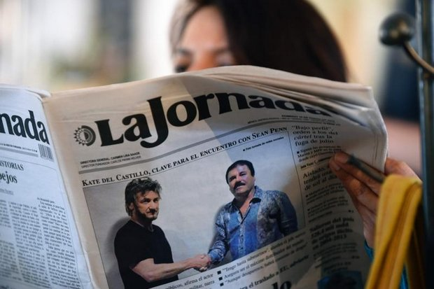 Mexican readers loved the drama of the meeting of the drug lord and the would-be reporter, the event that led to the re-arrest of