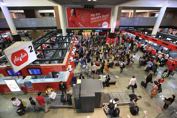 Don Mueang airport is the hub of low-cost carriers. (Bangkok Post file photo)