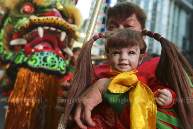 Mental health authorities are warning believers in the powers of Child Angel dolls to have second thoughts. (Photo by Patipat Janthong)
