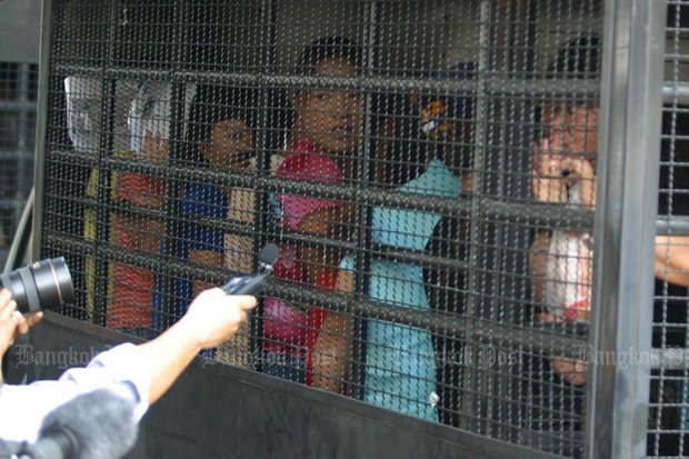 North Korean defectors and refugees have been arriving in Thailand for more than 10 years. This group, part of a total of 175 North Korean nationals in all, were arrested in Bangkok's Huai Khwang district - in 2006. (Photo by Surapol Promsaka na Sakolnakor)