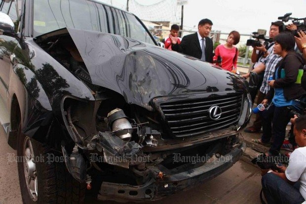 The current official version, although the case remains open: Billionaire property developer Chuwong Sae Tang died in this accident, with his