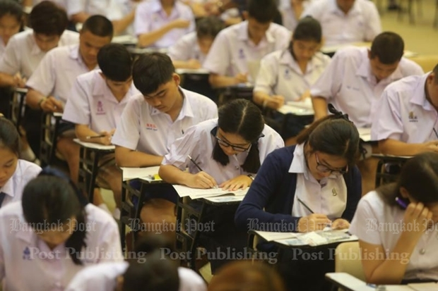 These urban students are likely to do far better in national tests than their rural counterparts where teachers and facilities are lacking. PATTARAPONG CHATPATTARASILL