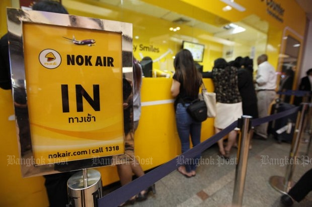 An official investigation is under way on whether Nok Air is really up to date on international management and service standards. (Post Today photo)