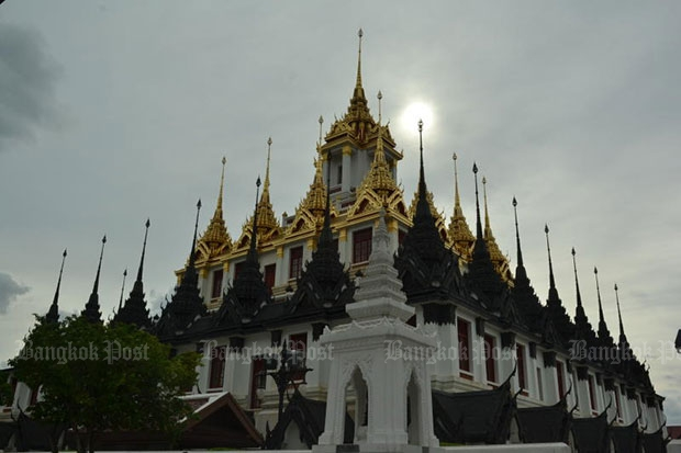 Wat Ratchanaddaram Voraviharn will get the largest portion of the budget earmarked for the renovation. (Bangkok Post file photo)